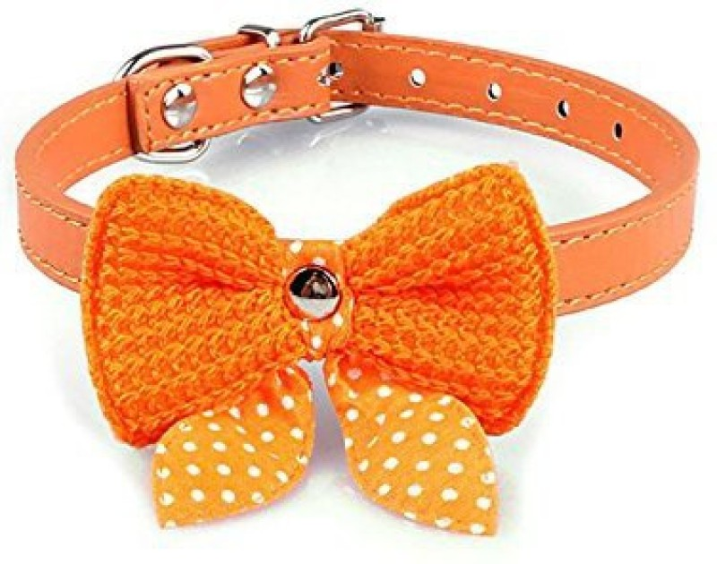 Futaba Embellished Dog Collar Charm(Orenge, Butterfly)