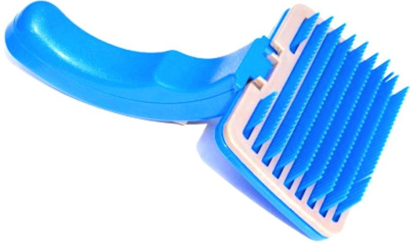 Scoobee Blue Grooming Brush Slicker Brushes for Dog, Cat
