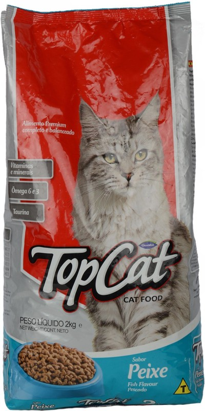 Top Cat - Fish 2 kg Dry Cat Food