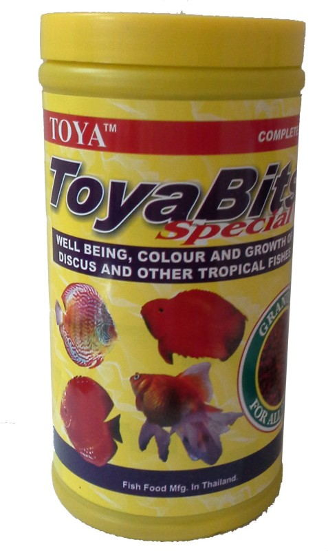 Toya Bits Food/SINKING FOOD Tropical Fruit 540 g Dry Fish Food