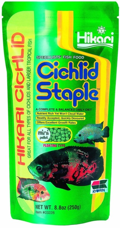 Hikari Cichlid Staple Mini Pellet 250g Fish 250 g Dry Fish Food