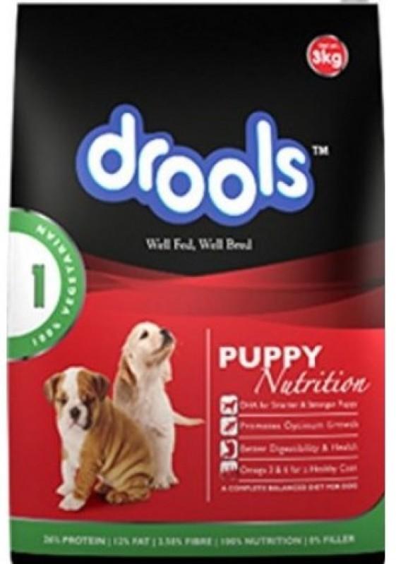 drools puppy 100 vegetarian vegetable dog food 3 kg noveltycart. Black Bedroom Furniture Sets. Home Design Ideas