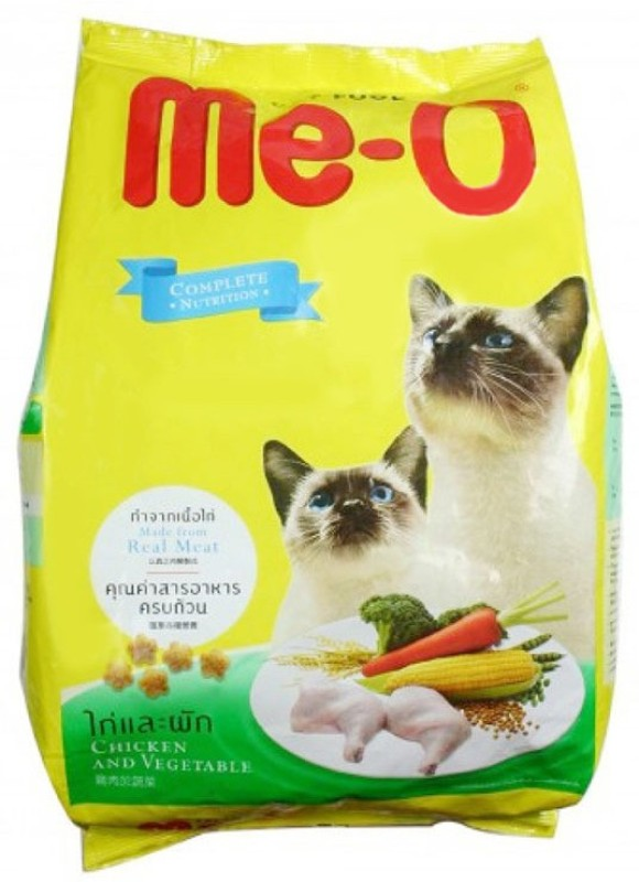 Me-O Chicken & Vegetable cat food Chicken 7 kg Dry Cat Food