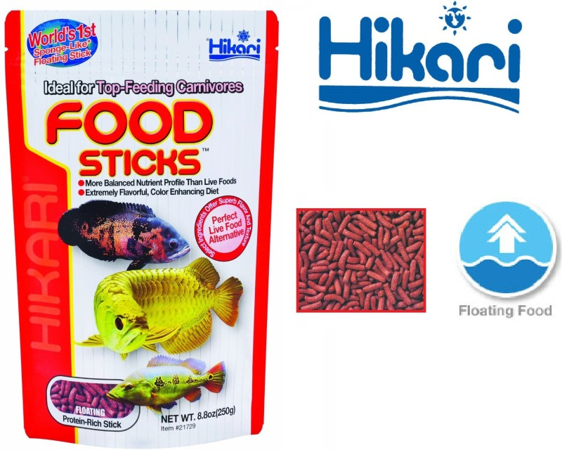 Hikari Food Sticks 250g | World's 1st Sponge-Like Floating Stick 250 g Dry Fish Food