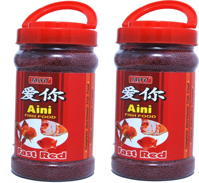 Taiyo fast red Fish 700 g Dry Guinea Pig Food(Pack of 2)