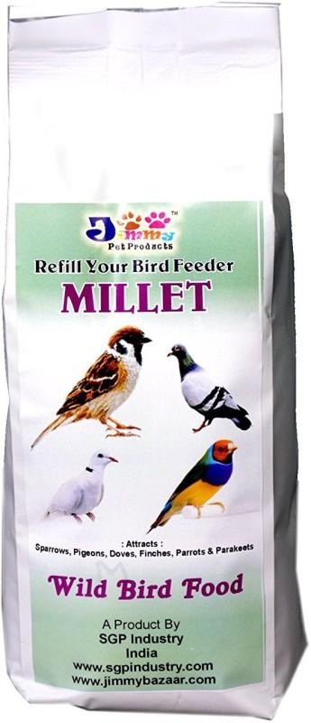 JiMMy Refill Your Bird Feeder - Millet- Wild Bird Food 900 g Dry Bird Food