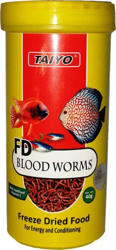 Taiyo Blood Worms 40 g Dry Fish Food