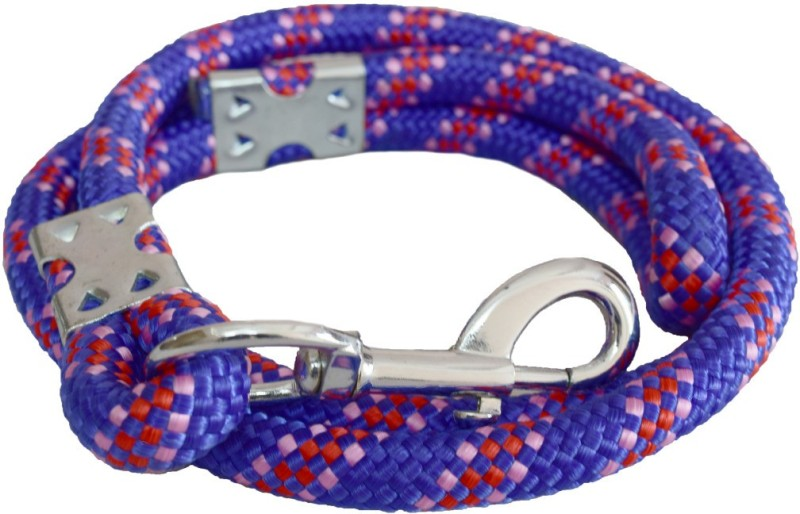 Pawzone 16 cm Dog Cord Leash(Blue)