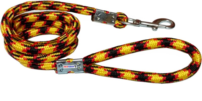 Petshop7 Medium Size Rope 150 cm Dog Cord Leash(Multicolor)