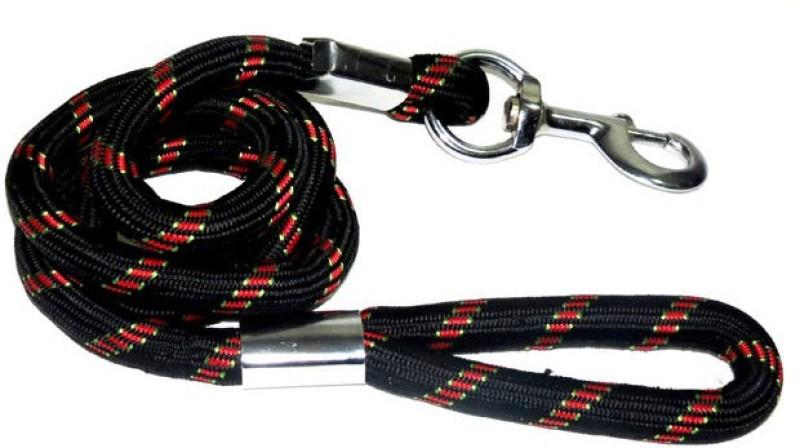 Petshop7 High Quality Black Large Leash Rope 155 cm Dog Cord Leash(Black)
