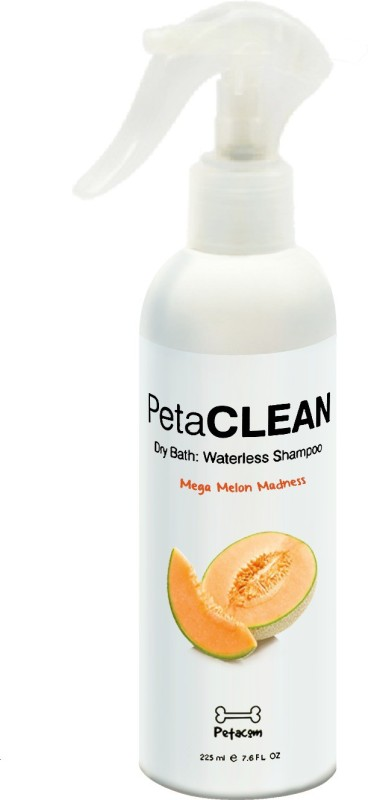 Petacom Allergy Relief, Anti-dandruff, Anti-fungal, Anti-itching, Anti-microbial, Anti-parasitic, Conditioning, Flea and Tick, Hypoallergenic, Whitening and Color Enhancing Melon Dog Shampoo(225 ml)