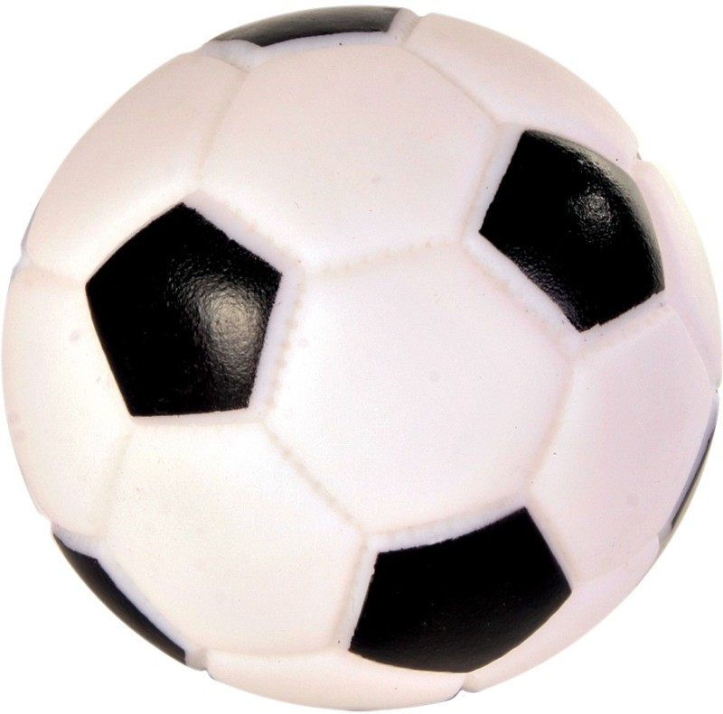 Trixie Football Vinyl Rubber Ball For Dog