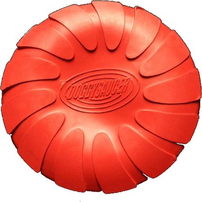 Love N Care Doggy Saucer - Small Rubber Frisbee For Dog