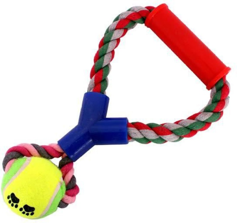 Jainsons Pet Products Rubber Tug Toy For Dog