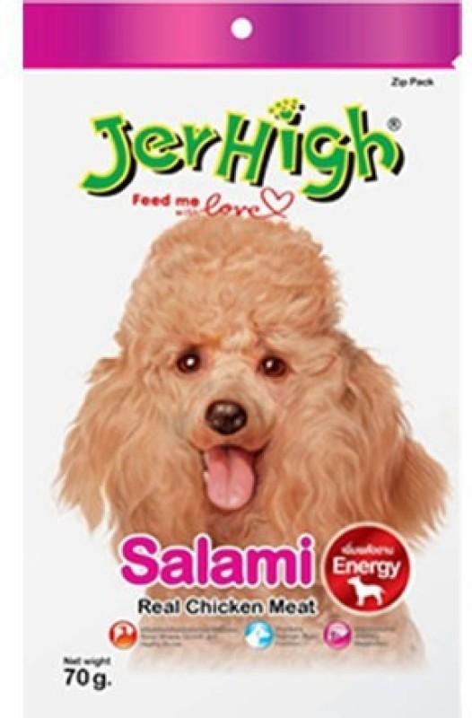 JerHigh Salami Chicken Dog Treat(70 g)