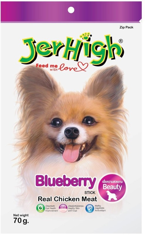JerHigh Blueberry Blueberry Dog Treat(70 g)