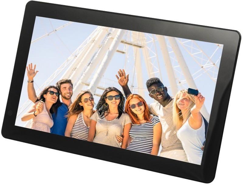Merlin Wi-Fi Digital Photo Frame 10.1 inch Digital(4 GB, Black)