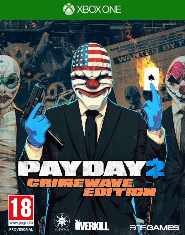 Payday 2 : Crimewave(for Xbox One)