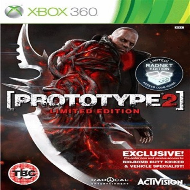 Prototype 2: Limited Radnet Edition Bio-bomb butt kicker (Xbox 360 Edition)(for Xbox 360)