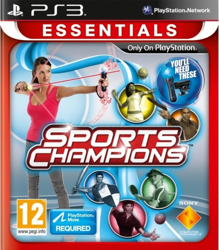 Sports Champions Essentials(for PS3)