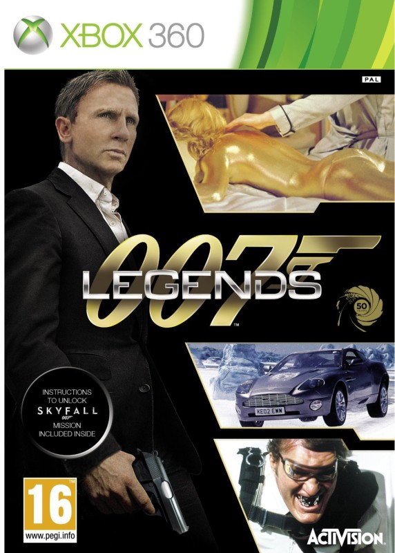 007 Legends(for Xbox 360)