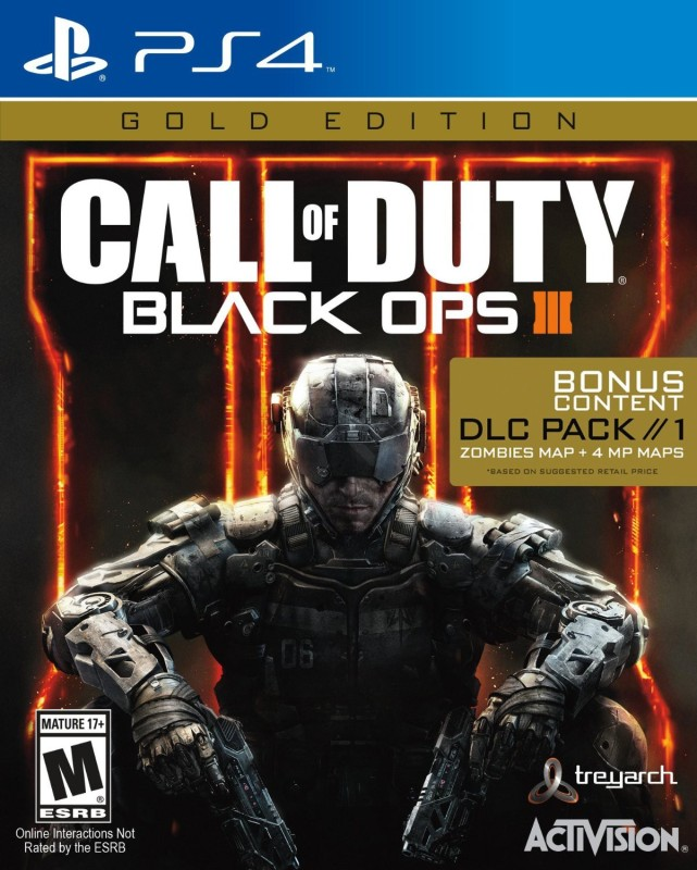 Call of Duty: Black Ops III (Gold Edition)(for PS4)