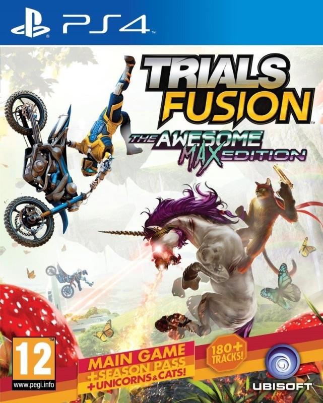 Trials Fusion : The Awesome Max Edition(for PS4)