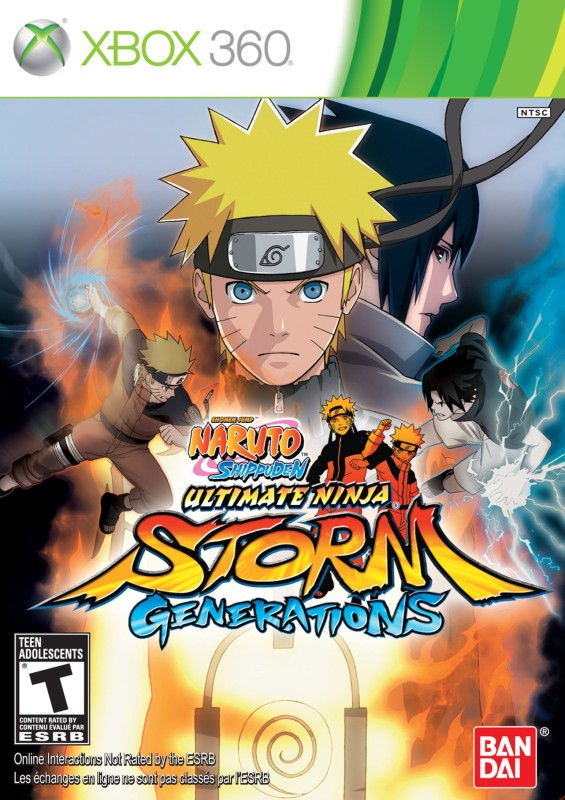 Naruto Shippuden : Ultimate Ninja Storm Generations(for Xbox 360)