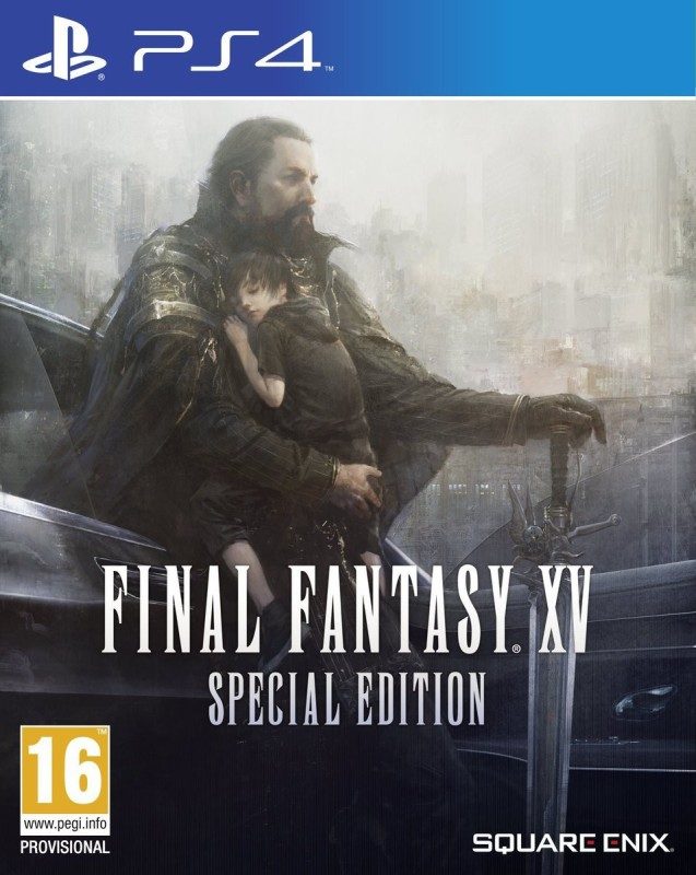 Final Fantasy XV (Includes Steelbook) (Special Edition)(for PS4)