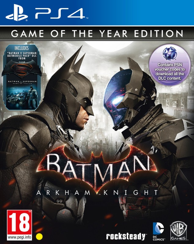 Batman Arkham Knight (Game of the Year Edition)(for PS4)