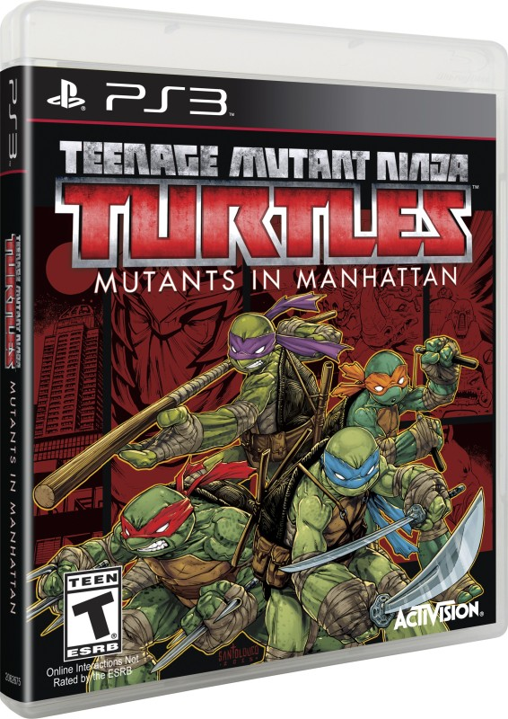Teenage Mutant Ninja Turtles: Mutants in Manhattan(for PS3)
