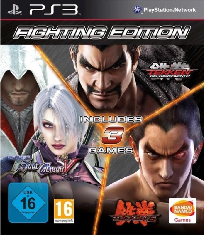 Tekken 6 / Tekken Tag Tournament 2 / Soulcalibur V(for PS3)