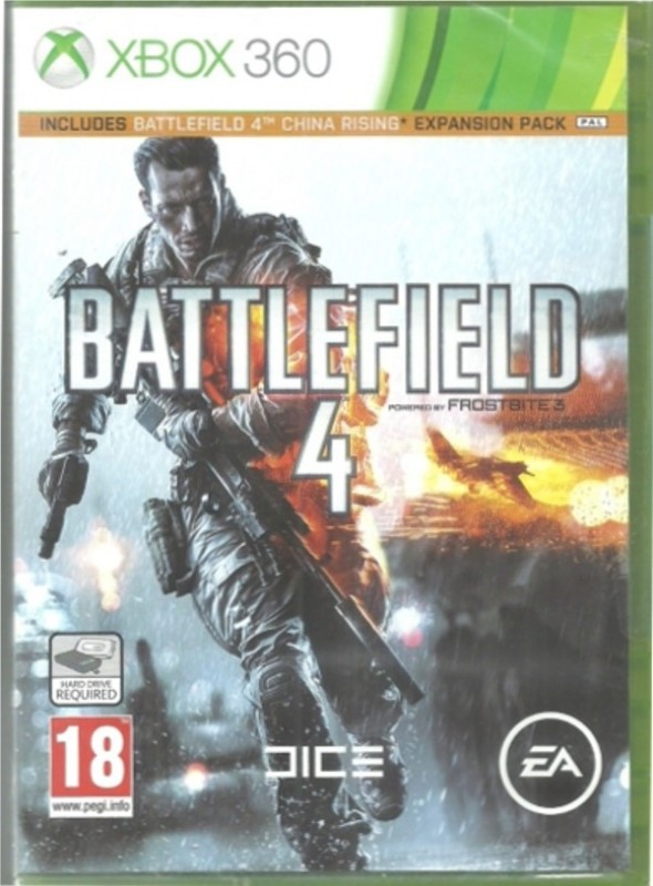 Battlefield 4 : Includes Battlefield 4 China Rising Expansion Pack(for Xbox 360)