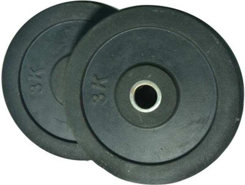 Monika Sports Moni Black Weight Plate(6 kg)