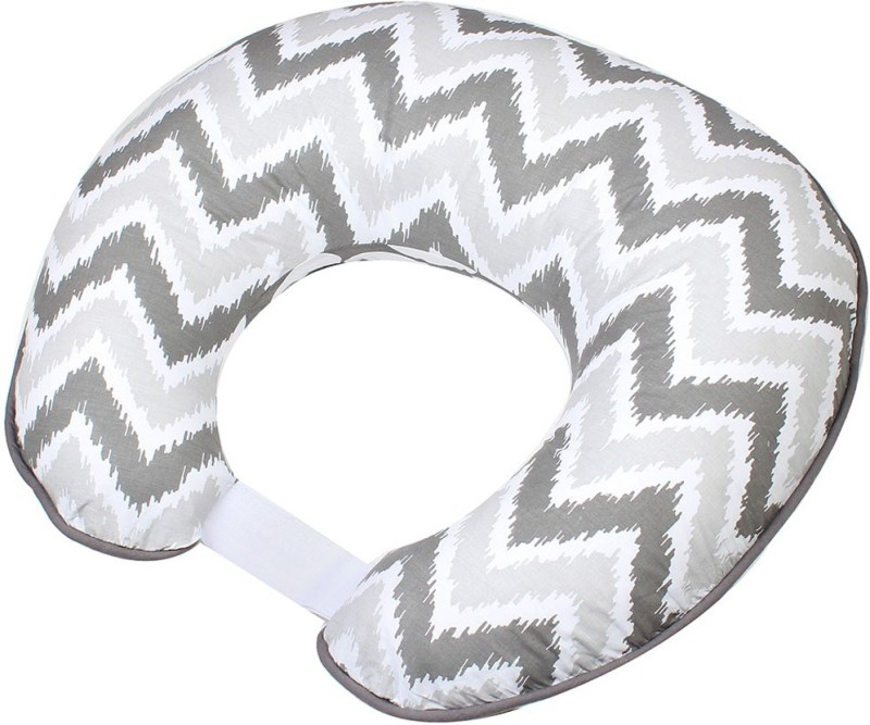 Bacati Geometric Feeding/Nursing Pillow Pack of 1(Grey)