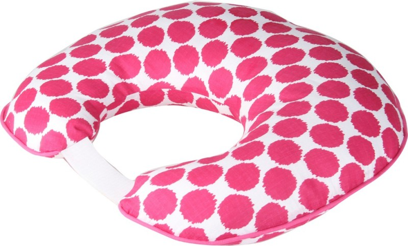 Bacati Geometric Print Feeding/Nursing Pillow Pack of 1(Pink)