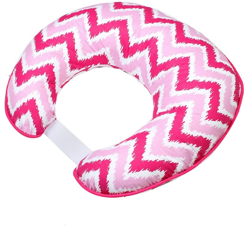 Bacati Geometric Feeding/Nursing Pillow Pack of 1(Pink)