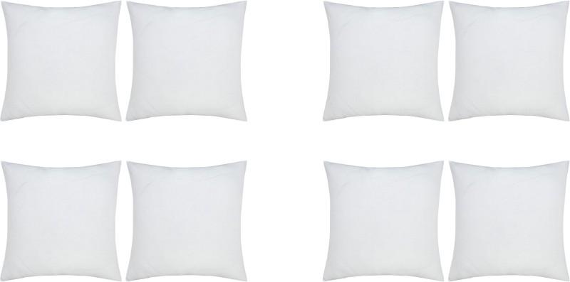 JDX Plain Back Cushion Pack of 8(White)