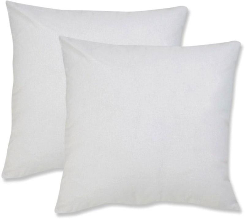 JDX Plain Back Cushion Pack of 2(White)