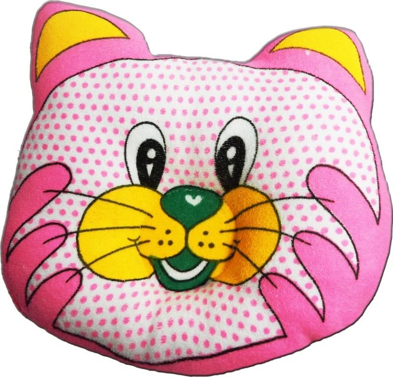 Crack4Deal Dot Printed CAT Desigened Feeding/Nursing Pillow Pack of 1(Pink)