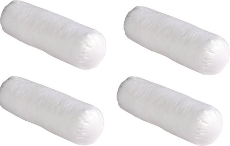 Spot Dealz Solid Bolster Pack of 4(White)