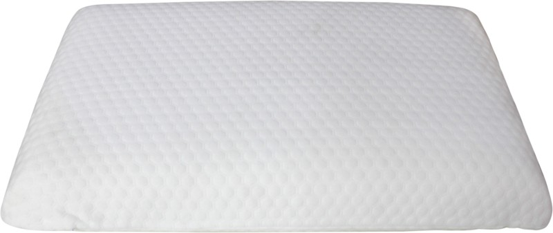 Comforts Solid Bed/Sleeping Pillow Pack of 1(White)