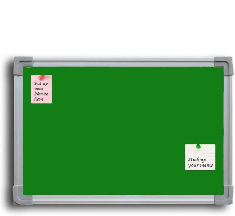 Jagdish Traders Concrete Board Bulletin Board(Green)
