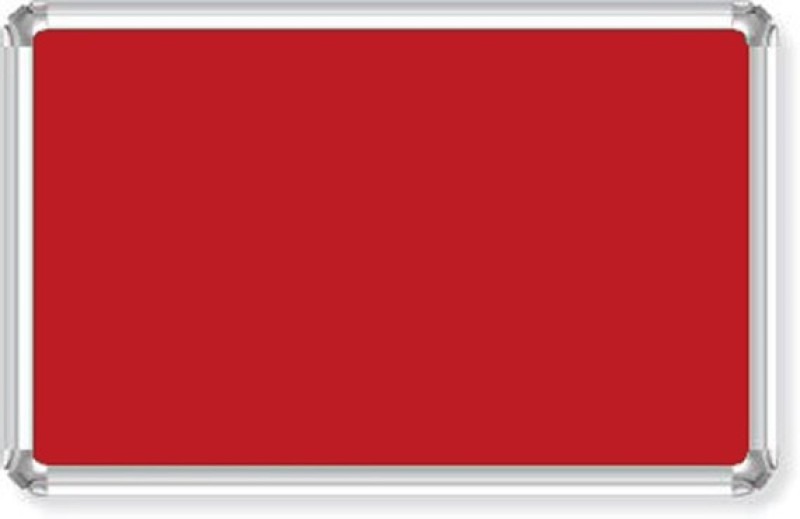 Bansal Paper Industries 1.5 x 2 Feet Light Weight Maroon Notice Boards Bulletin Board(Red)