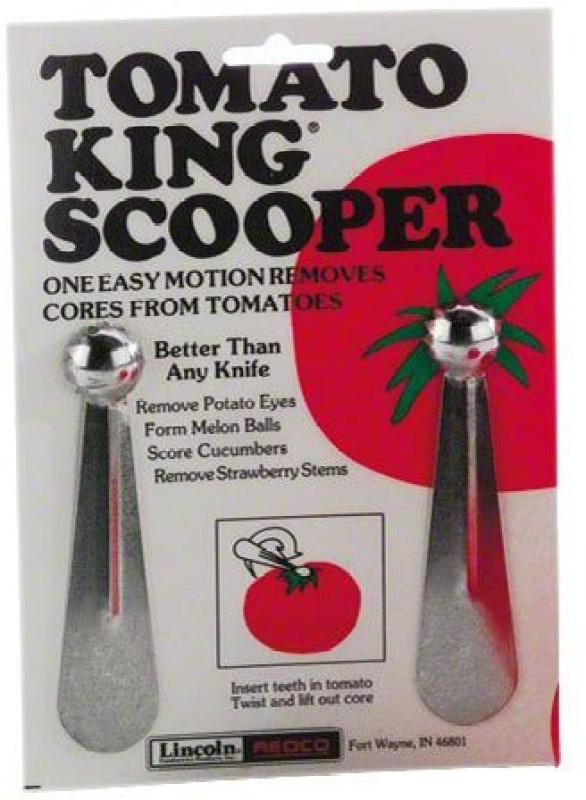 Vollrath 1401 Stainless Steel Tomato King Scooper Pitter