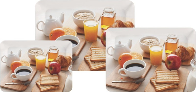 Servewell Breakfast Tray Set(3 Units)