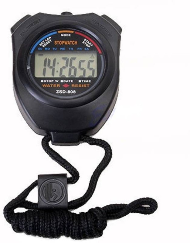 TRISHA Analog pocket stop watch(Black)