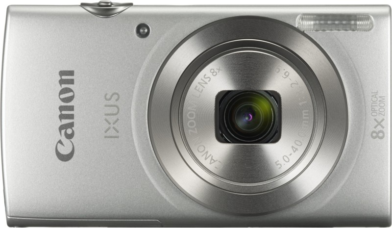 Canon IXUS 185 Point and Shoot Camera(Silver 20 MP) image