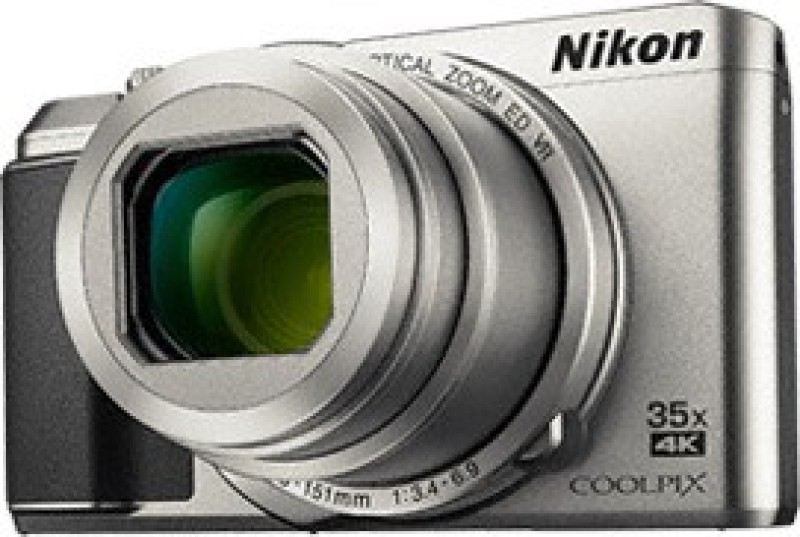 Nikon COOLPIX A900(20 MP, 35x Optical Zoom, 4x Digital Zoom, Silver)