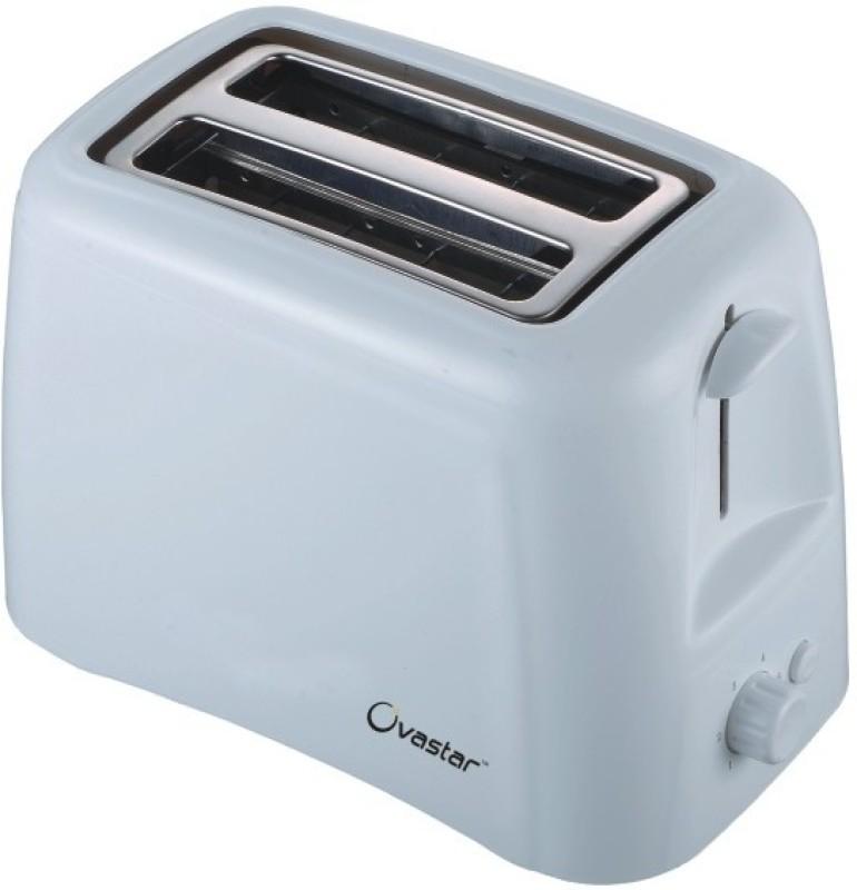 Ovastar OWPT-402 800 W Pop Up Toaster(White)